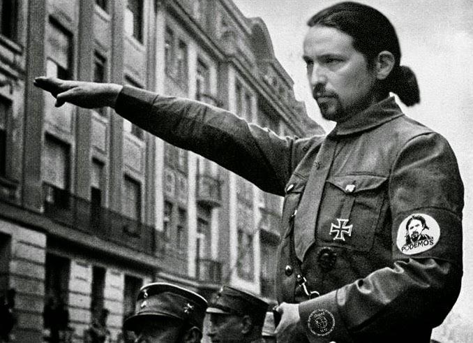Resultado de imagen de Pablo Iglesias, Caudillo