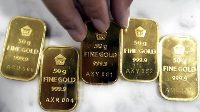 Terbaru 6 Juni! Harga emas 24 karat Antam turun Rp 12.000 per gram, ini rinciannya