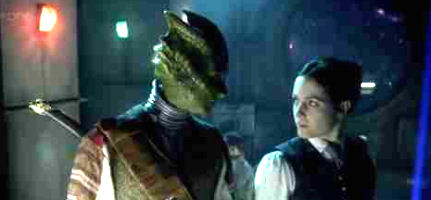 jenny and vastra meet the parents