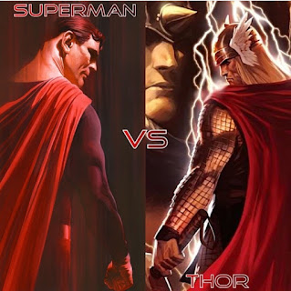 Who will win among Thor and Superman?