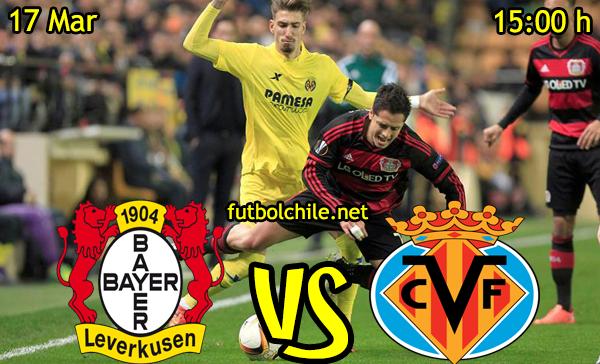 VER STREAM RESULTADO EN VIVO, ONLINE:Bayer Leverkusen vs Villarreal