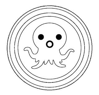 דפי צביעה אוקטונאוטים לוגו