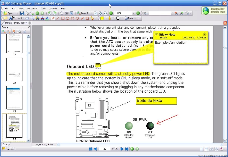 ins u00e9rer une image dans pdf-xchange viewer
