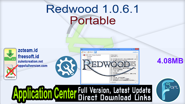 Redwood 1.0.6.1 Portable_ ZcTeam.id