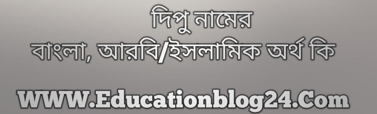 Dipu name meaning in Bengali, দিপু নামের অর্থ কি, দিপু নামের বাংলা অর্থ কি, দিপু নামের ইসলামিক অর্থ কি, দিপু কি ইসলামিক /আরবি নাম
