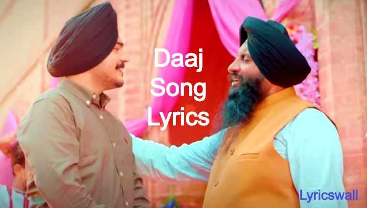 Daaj Song Lyrics