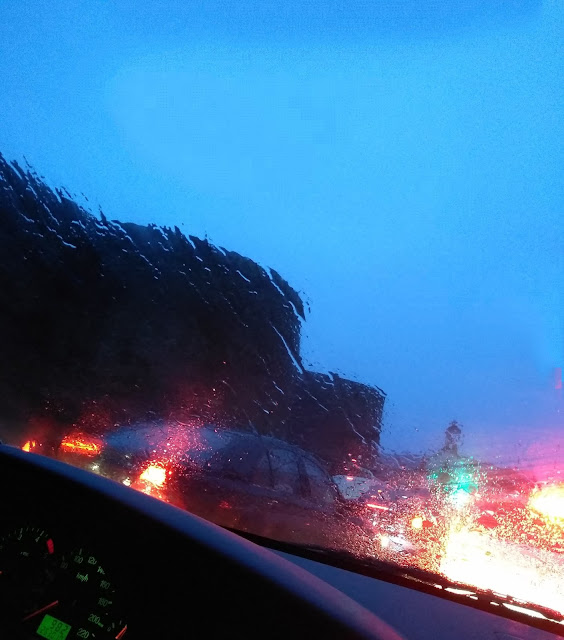 días lluviosos en galicia