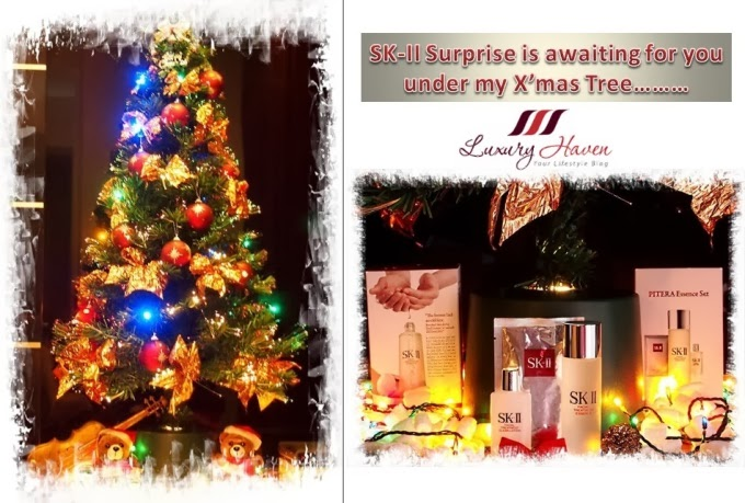 skii pitera essence set giveaway christmas tree