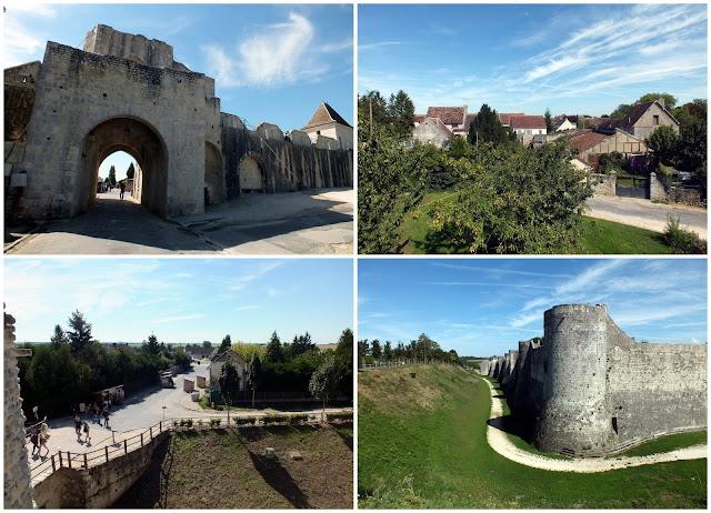 La muralla medieval del pueblo de Provins