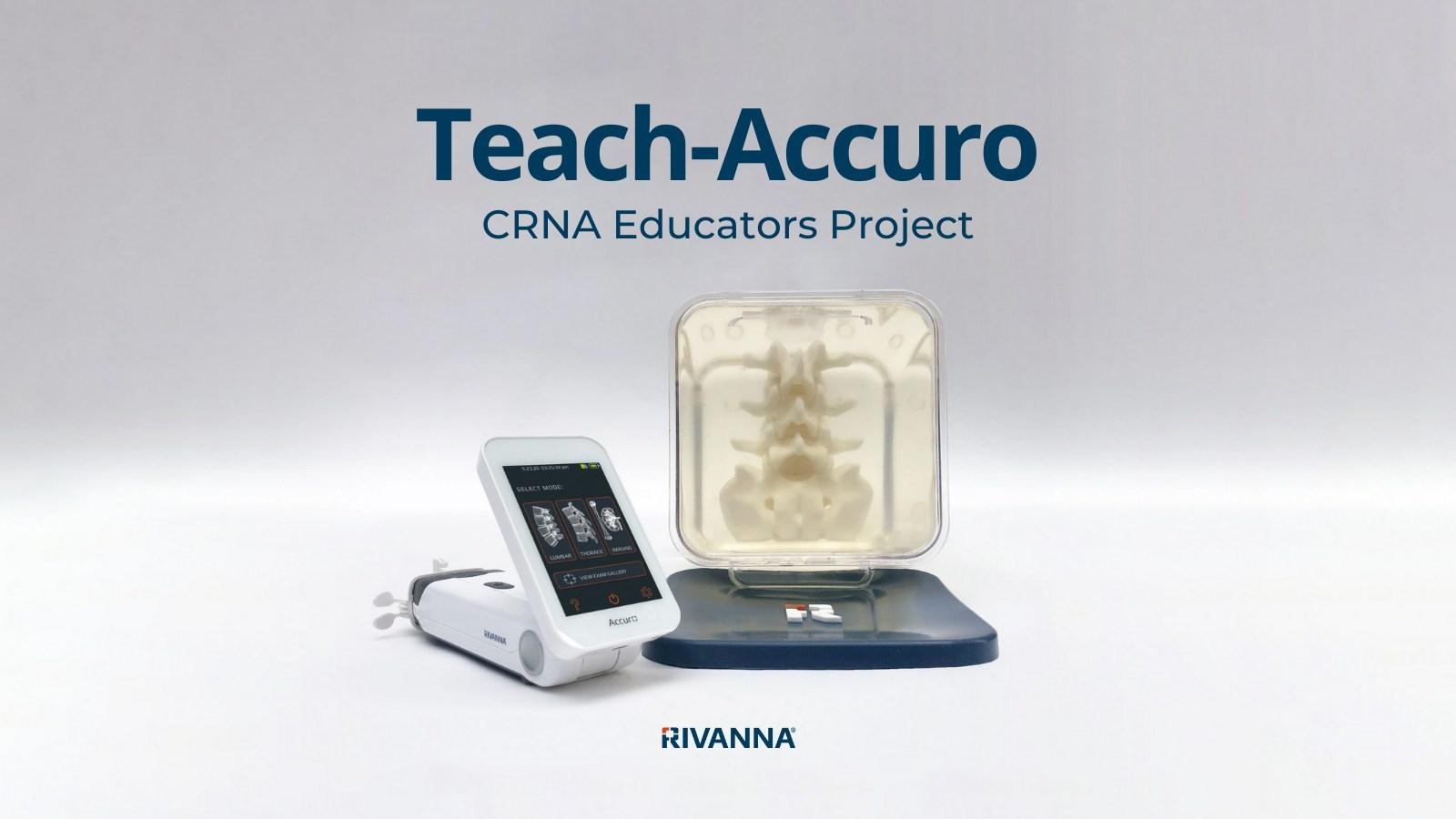 RIVANNA Launches Teach-Accuro, a CRNA Educators Project