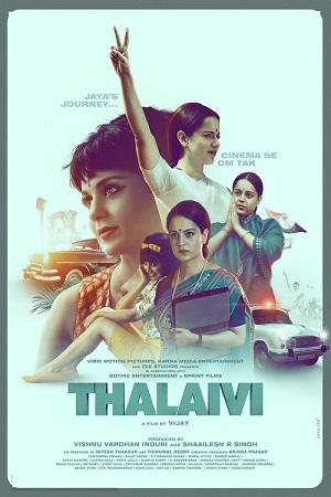 Thalaivi (2021) Hindi 1080p | 720p | 480p NF WEB-DL x264 AAC