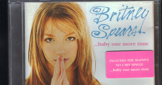 ...Baby One More Time (UK 12 Trk) + sticker 0522172