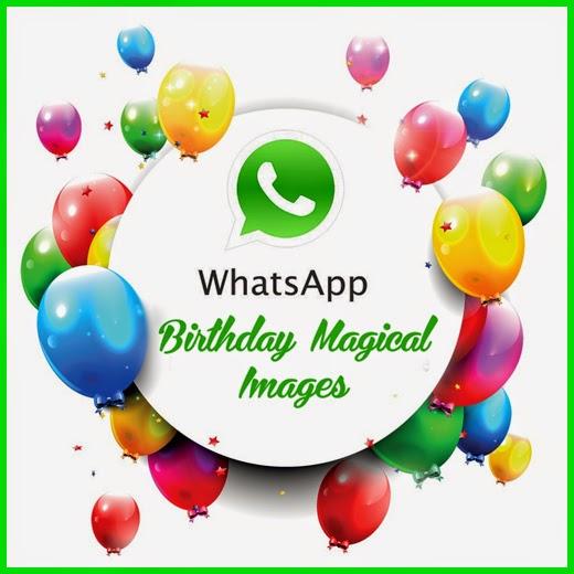 WhatsApp Magical Happy Birthday Wishes Beautiful Magic Greeting Card