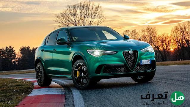 سيارة الفاروميوستيلفيو كوادريفوليو 2021 Alfa Romeo Stelvio Quadrifoglio