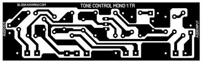 Cara membuat Tone Control sederhana satu transistor