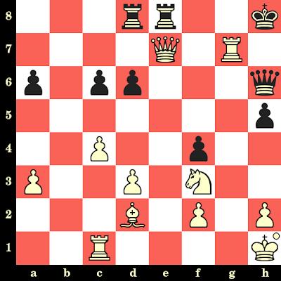 Les Blancs jouent et matent en 4 coups - Salim Aliyan Al Mashikhi vs Ansumana Kamara, Batoumi, 2018