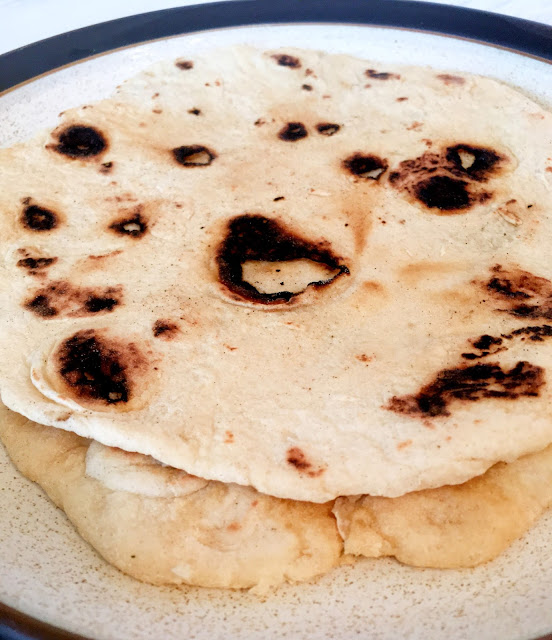 Homemade Flatbread   Nani & Tati