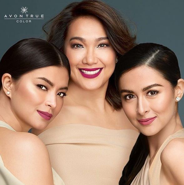 #PinaysChoosePink: Marian Rivera And Angel Locsin Looked Gorgeous In Their Avon Poster