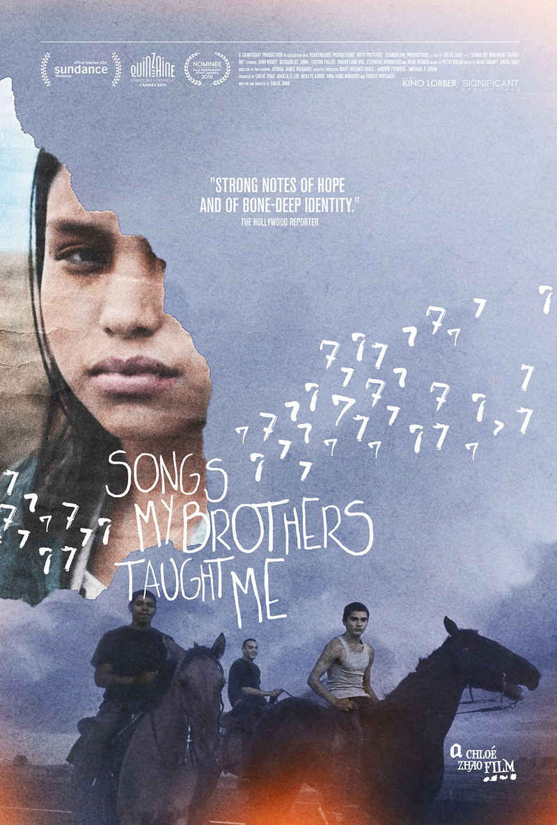 songs my brothers taught me poster