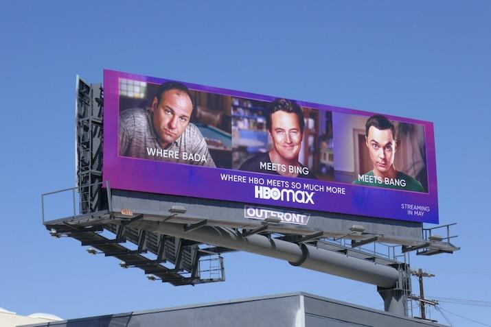 HBO Max Where Bada meets Bing Bang billboard