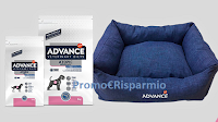 Logo Concorso Advance Atopic : vinci gratis 80 cucce per cani,80 forniture e buoni sconto premio sicuro