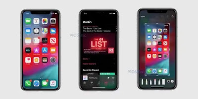 Leak reveals apps appearance with dark mode on iOS 13