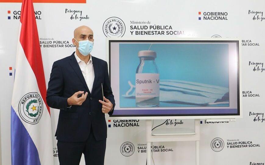 Paraguay firmó compra un millón de dosis de la vacuna rusa Sputnik V