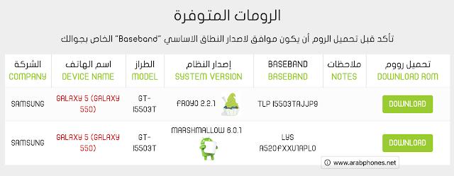 أفضل موقع عربي لتحميل رومات الأندرويد بروابط مباشرة