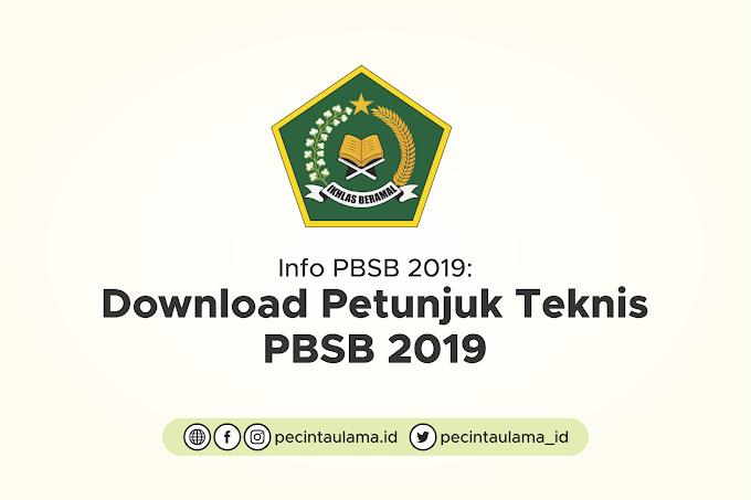 Download Petunjuk Teknis Program Beasiswa Santri Berprestasi (PBSB) 2019