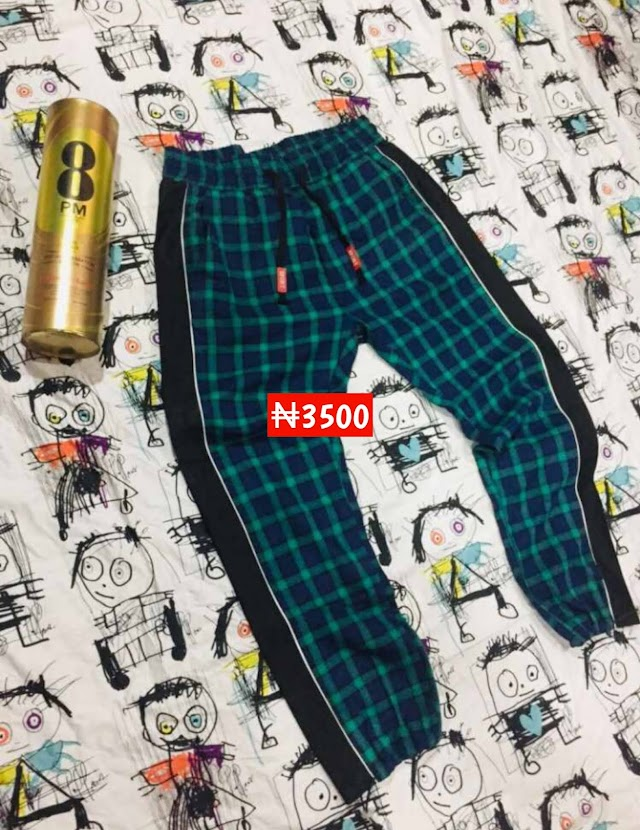 Fine patterned Joggers