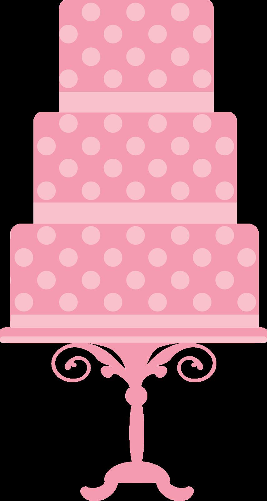 clipart de tartas o pasteles para fiestas