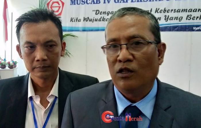 Terpilih Secara Aklamasi, Andriansyah Pimpin DPC Gapeksindo Kota Metro 2020/2025