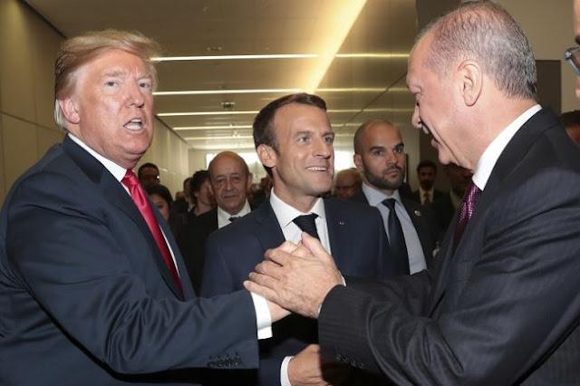 Ερντογάν, Μακρόν και Τραμπ βάζουν «μπουρλότο» στο ΝΑΤΟ!