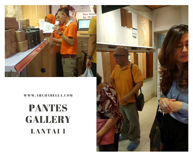 Pantes Home Decoration Gallery lantai 1