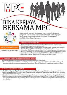 Jawatan Kosong MPC Perbadanan Produktiviti Malaysia