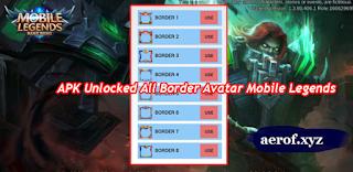 cara mudah bobol Border avatar mobile legends
