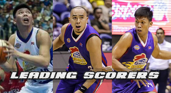 Top 5 Leading scorers for Magnolia Hotshots elimination round 2018 PBA PhilCup