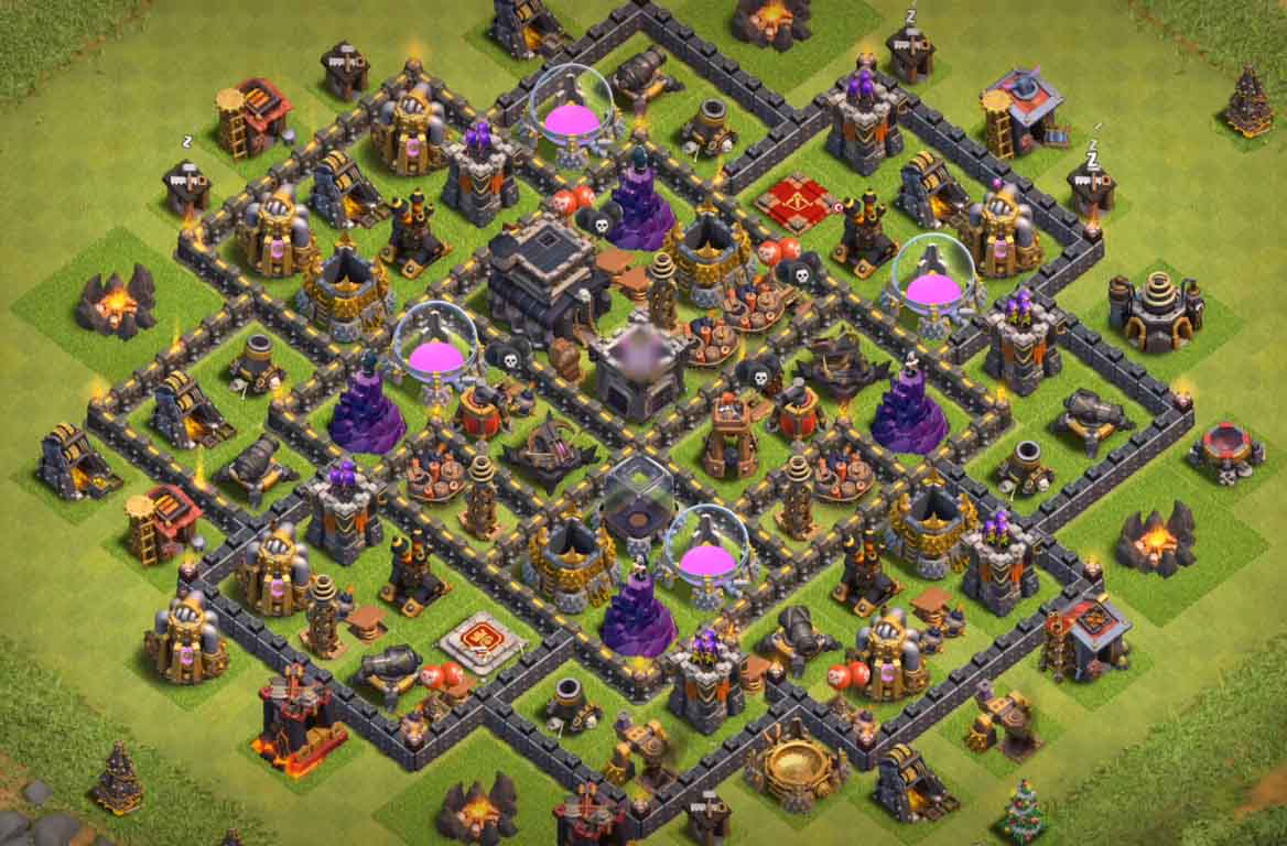 town hall 9 hybrid bases 2017 2018 new anti everything mj s