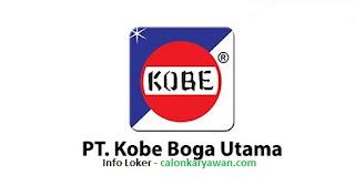 Lowongan Kerja PT Kobe Boga Utama Indonesia