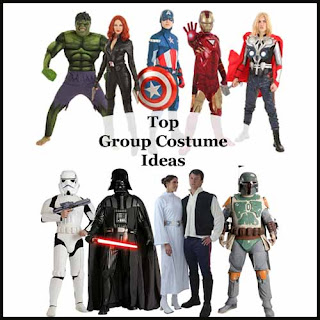 Top Three Group Costume Ideas for Halloween