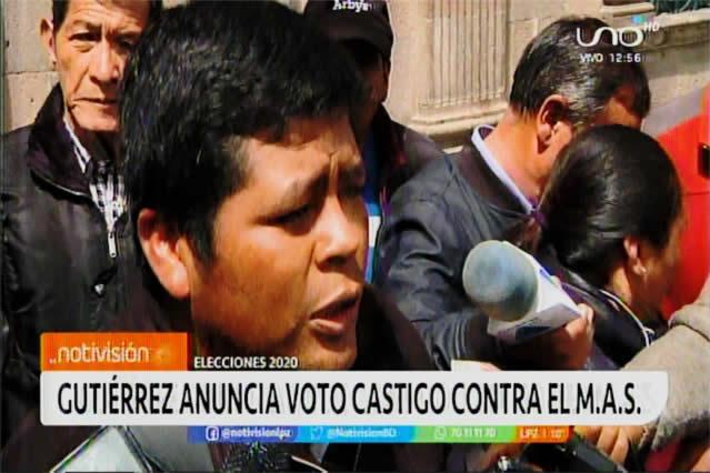 ADEPCOCA anuncia campaña de voto castigo contra MAS de Evo Morales