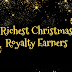 Richest Christmas Royalty Earners #infographic
