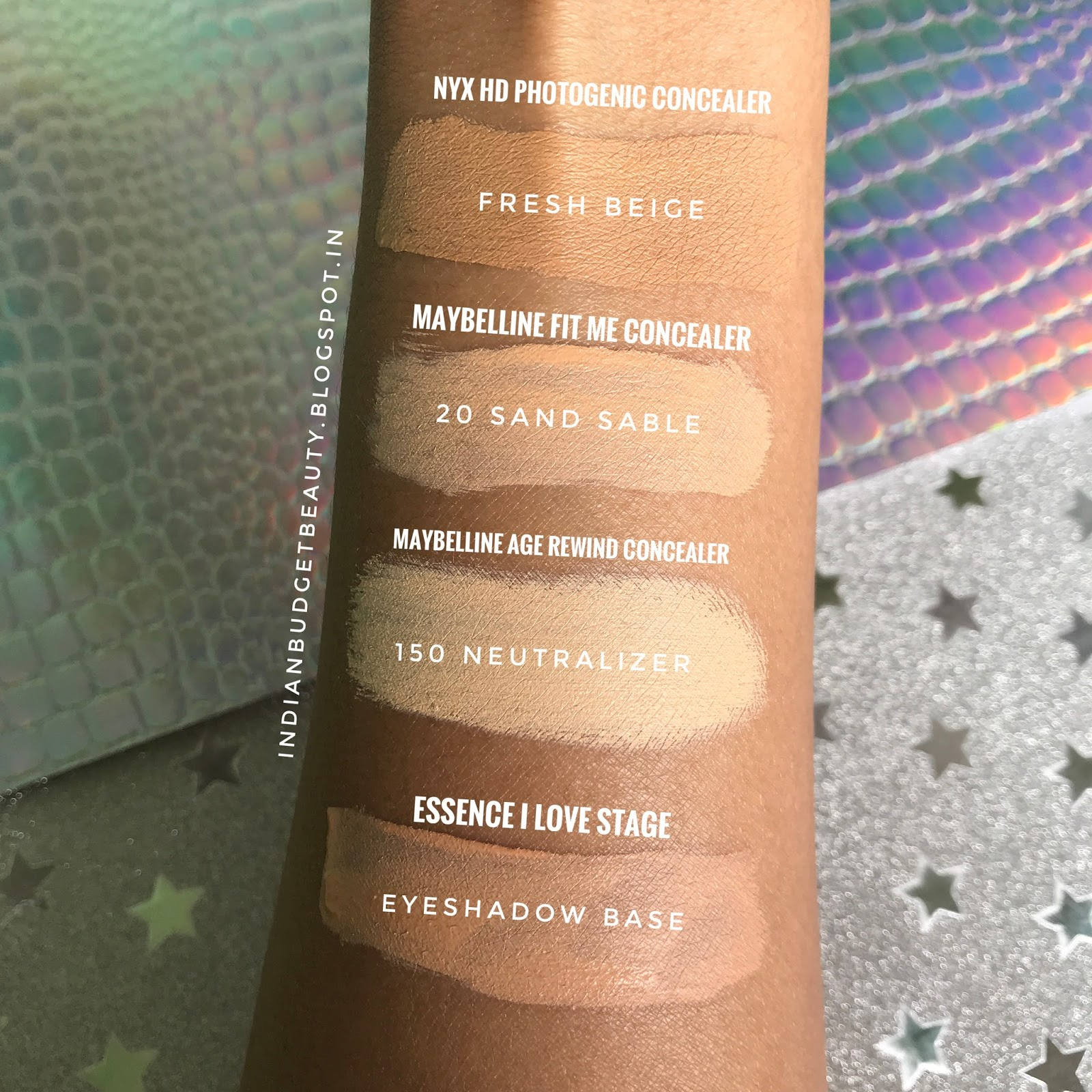 Nyx hd studio photogenic concealer wand fresh beige cw 06 3 review swatches comparison - Nyx concealer wand medium ...