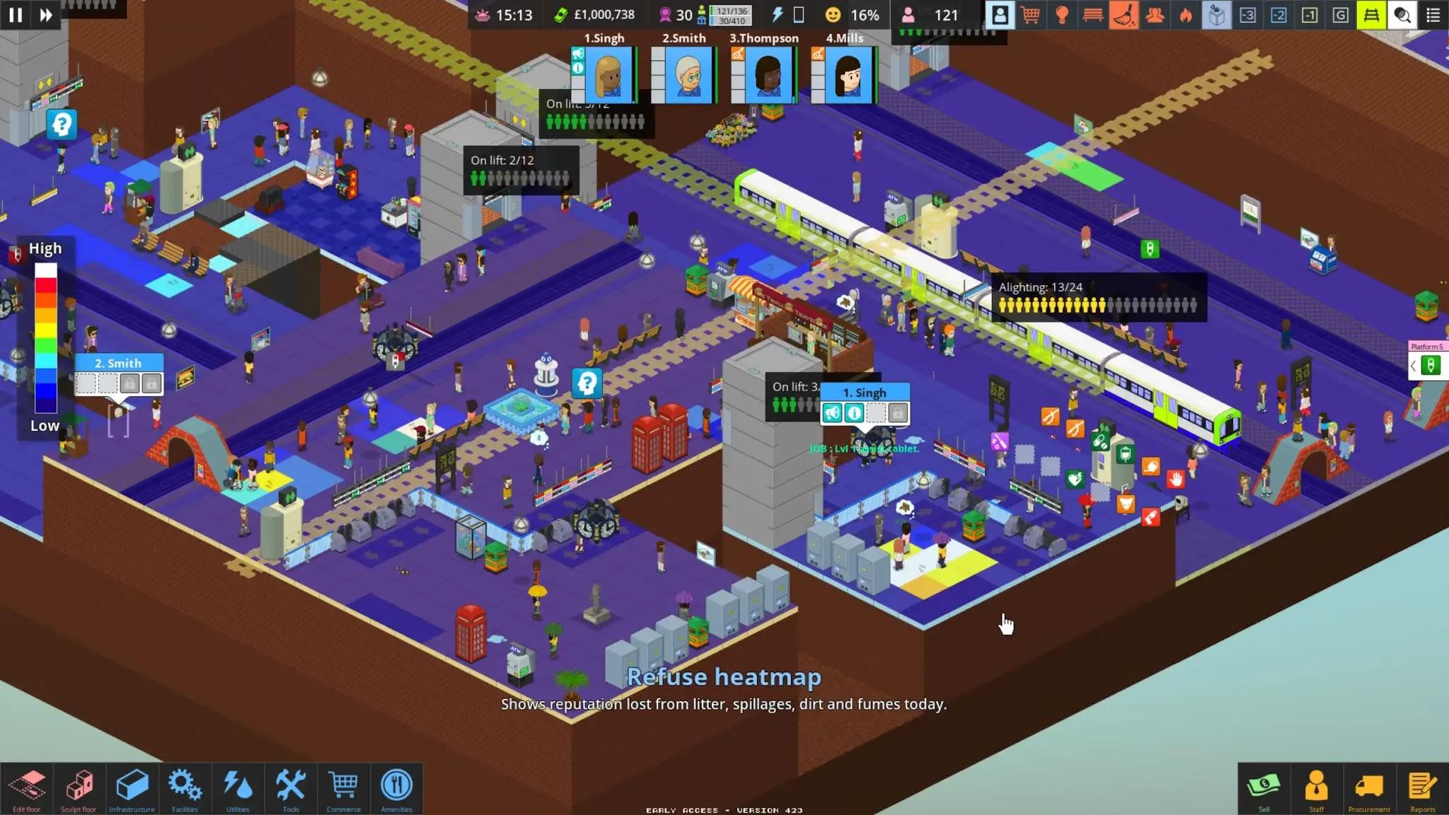 Overcrowd Refuse Heatmap