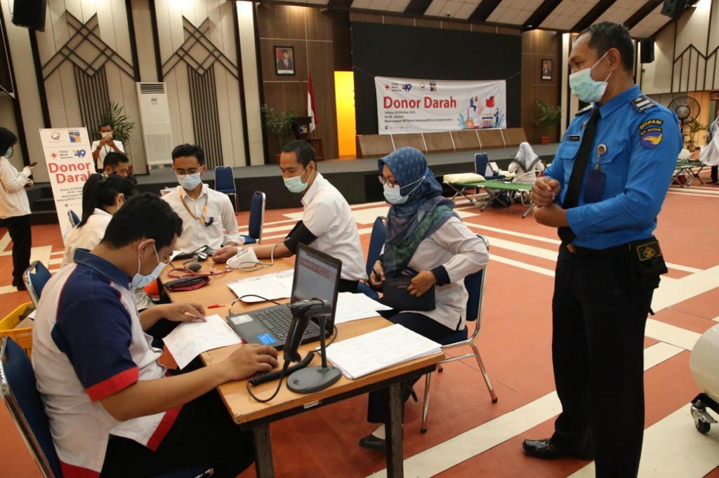 RSBP Batam Gelar Donor Darah dan Bakti Sosial Dalam Rangka Menyambut Hari Bakti BP Batam Ke 49