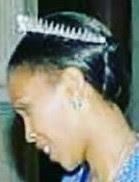 fringe tiara diamond queen mamohato lesotho masenate