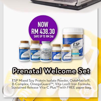 Promosi Jom Shaklee Prenatal Set