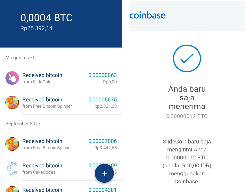 free money to bitcoin
