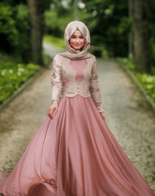 Kumpulan Trend Baju Gamis Terbaru Spesial Lebaran 2017