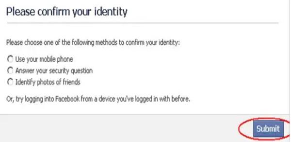Lalu kembali masuk ke akun fb Anda jika sudah mendapatkan balasan di email berisi tautan dan kode kata sandi fb.